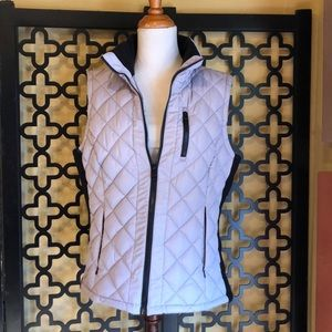 ANDREW MARC QUILTED VEST JACKET
